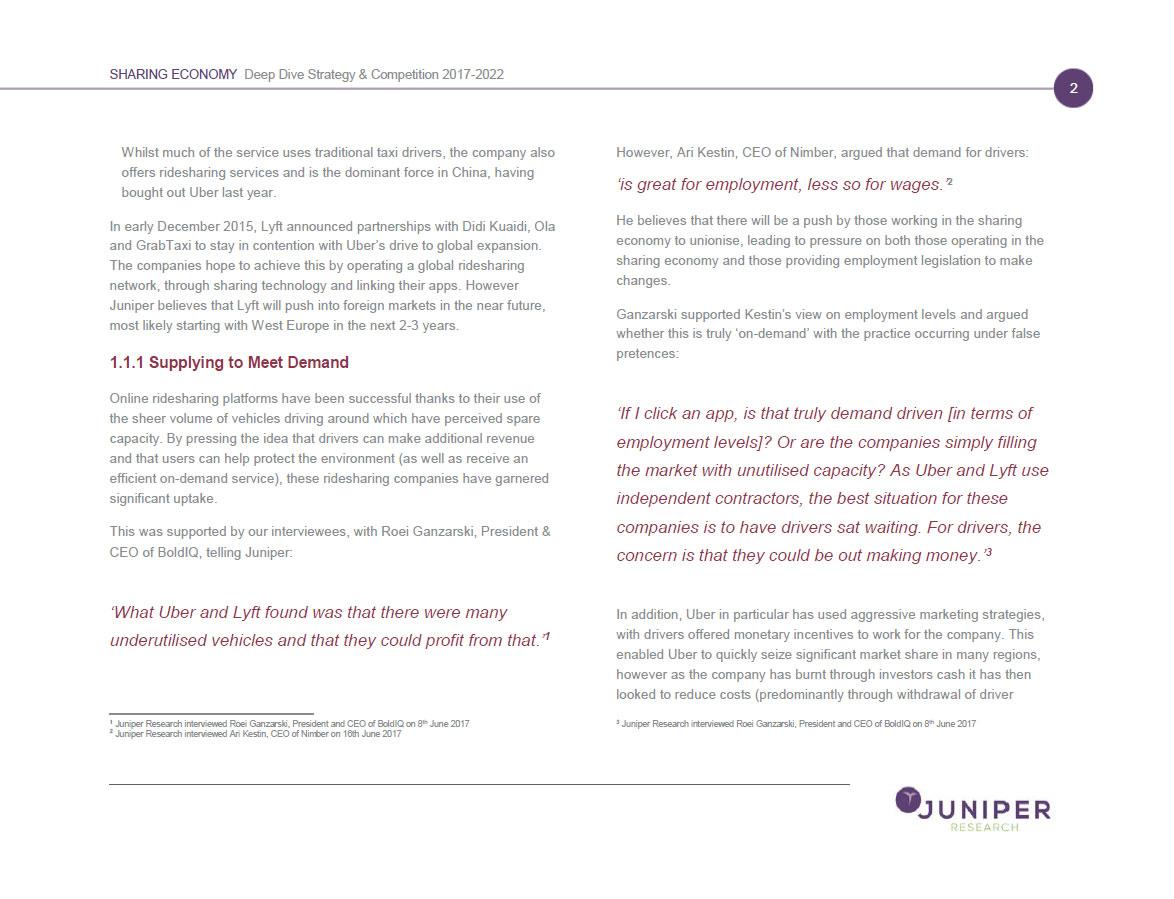 BoldIQ   BoldIQ Featured in Juniper Research's Annual Sharing