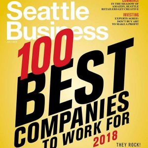 Work at one of Seattle's 100 Best Companies